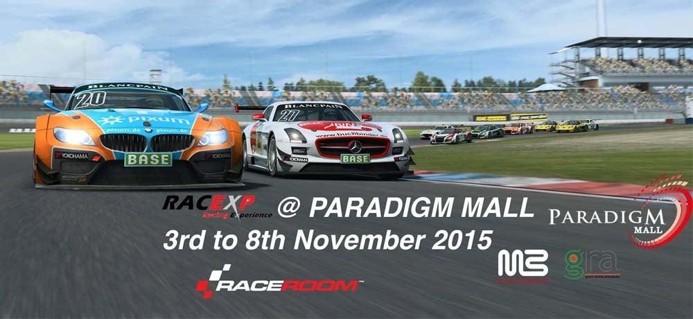 Program RACEXP - Liga Gaming Perlumbaan Kereta di Malaysia
