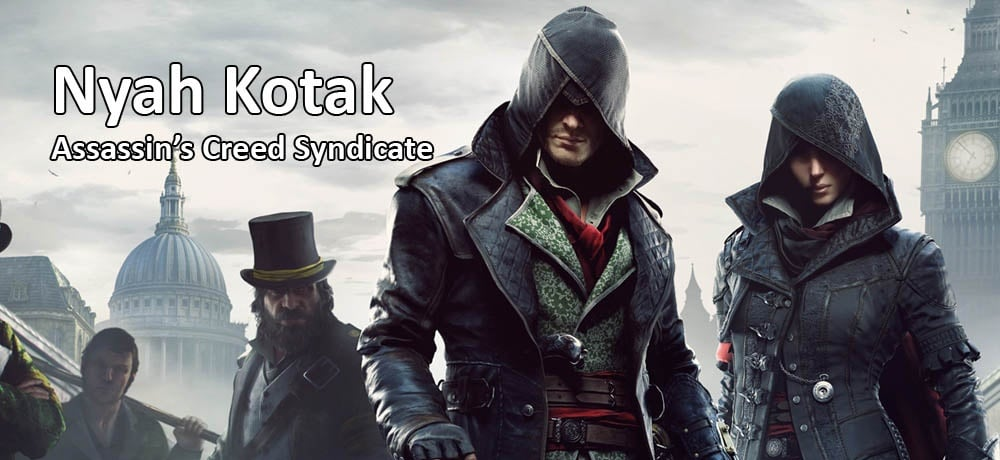 Nyah Kotak Assassin's Creed Syndicate (PS4)